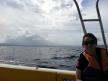 Speed boat ride back to Legazpi City